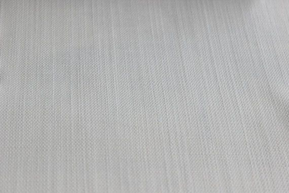 Ivory Berry Solid Texture Fabric By The Yard Curtain by FabricMart