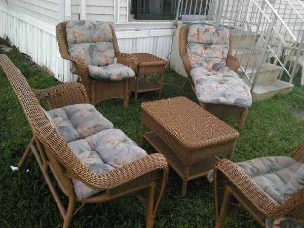 wicker patio furniture condo ideas pinterest wicker patio furniture condos and patios