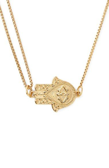 Alex and Ani 'Symbolic - Hand of Fatima' Pendant Necklace available at #Nordstrom