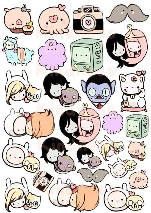 Cute Adventure Time characters | Adventure Time