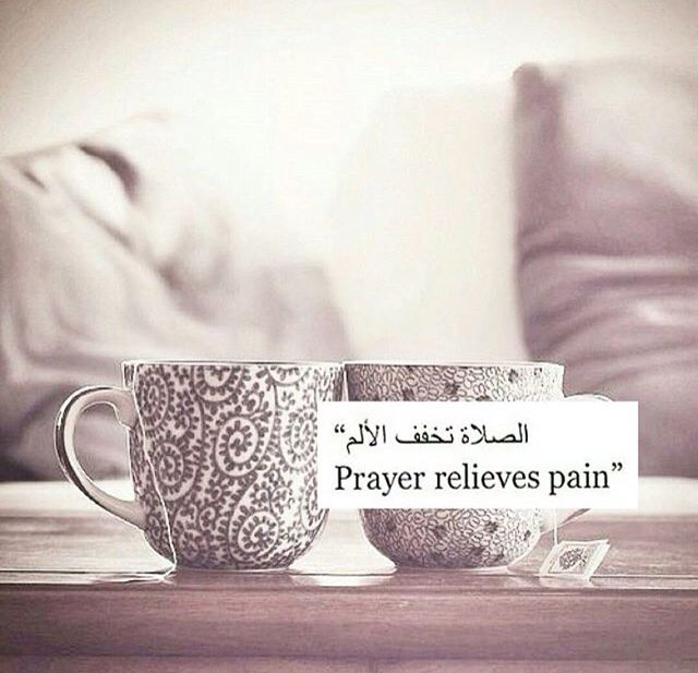 Prayer helps me focus on something other than myself