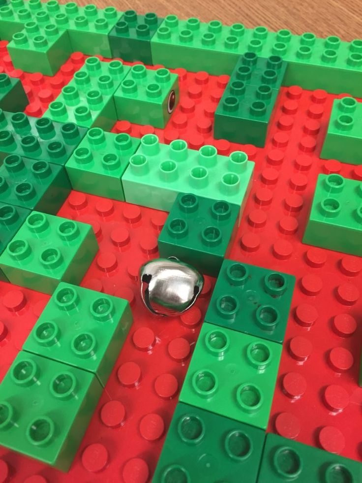 """""""Jingle All the Way"""" Bell Maze (from Differentiated Kindergarten)"""