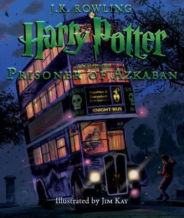 Harry Potter and the Prisoner of Azkaban by JK Rowling, stunningly illustrated by Jim Kay.