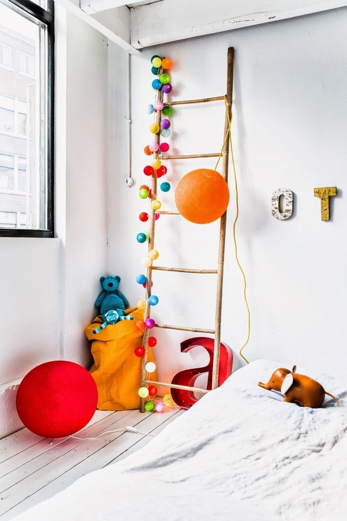 Less is more, as long as it's bright! #estella #kids #decor