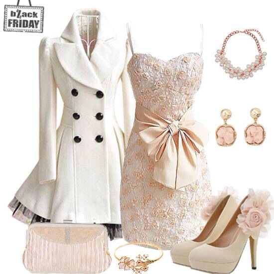 Winter wedding guest outfit wedding ideas pinterest for Wedding dress outfits for guests