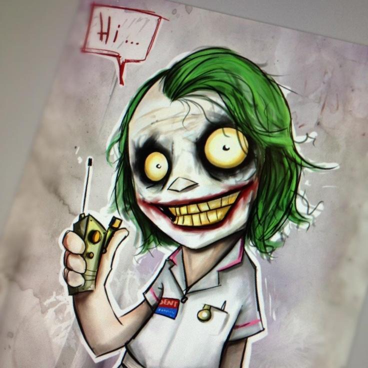 The Joker by Christopher Uminga