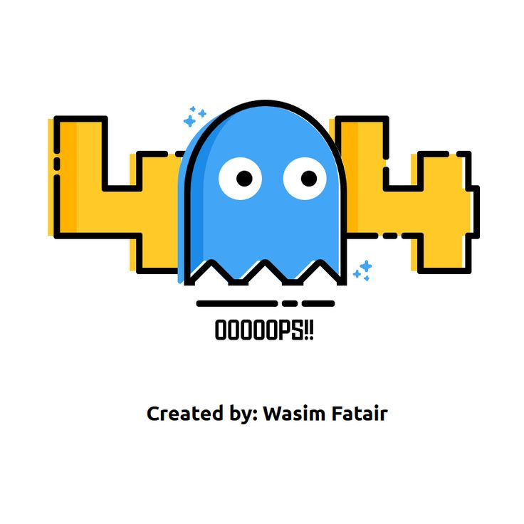 Pure CSS Pacman 404 Error Page Coding 404 Page Code CSS CSS3 HTML HTML5 Resource SCSS Snippets Web Design Web Development