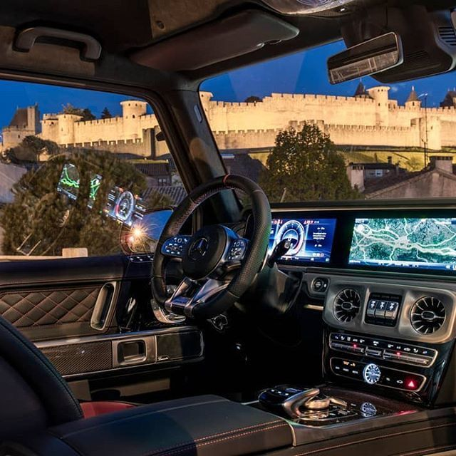Mercedes Benz Interior 2019 G63 AMG