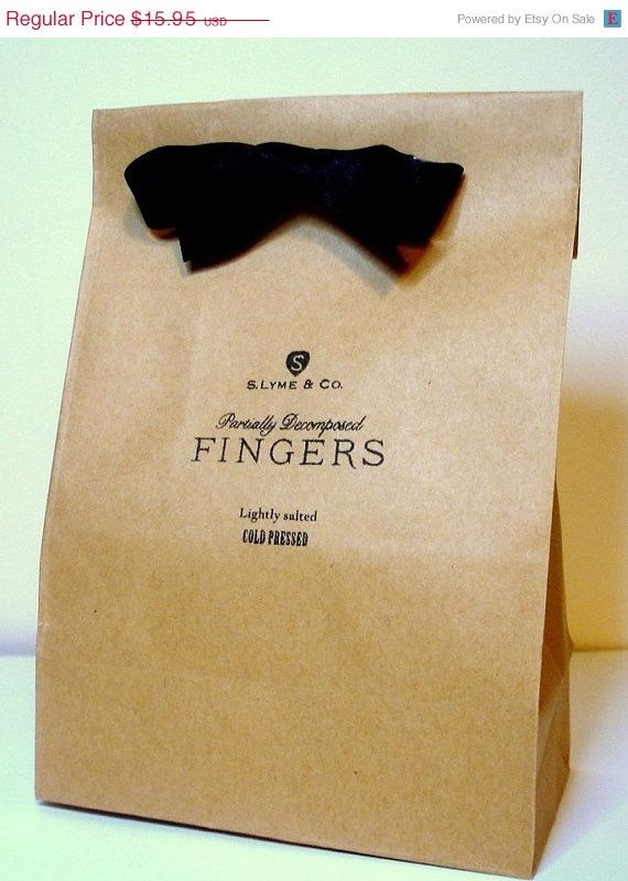 awesome packaging - collect bow ties at thrift stores