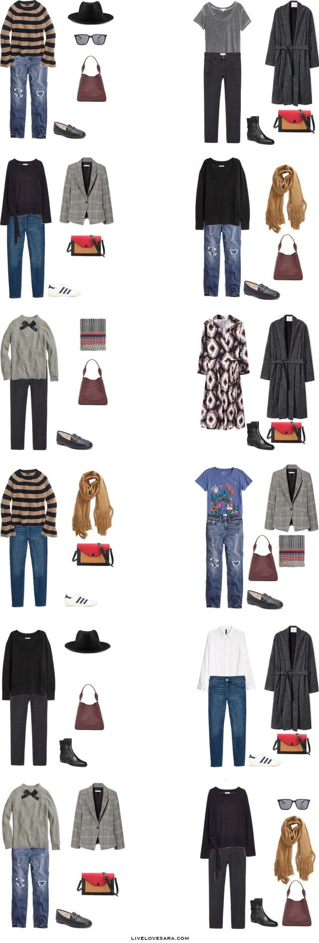 Packing Light | Packing List | Portugal Packing List | Lisbon Packing List | Europe Packing List | Winter Packing List | What to Pack | Capsule Wardrobe | Capsule | What to Pack | Travel Wardrobe |