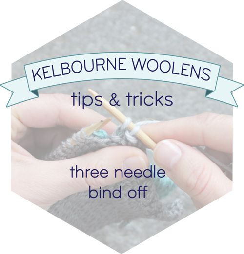 Knitting Stitches 3 Needle Bind Off : 124 best images about How to on Pinterest Tutorials, Purl bee and How to knit