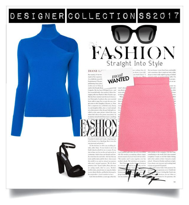 """Untitled #127"" by julia-772 ❤ liked on Polyvore featuring Steve Madden, Dion Lee, Gucci and Troy Lee Designs"