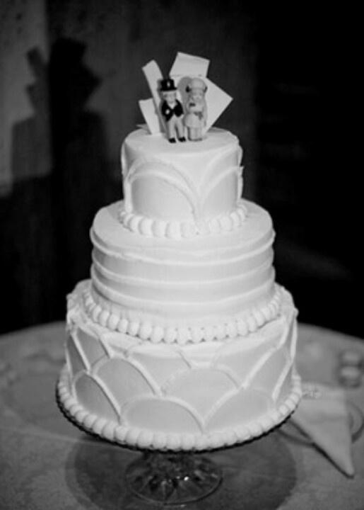 1930s cake design