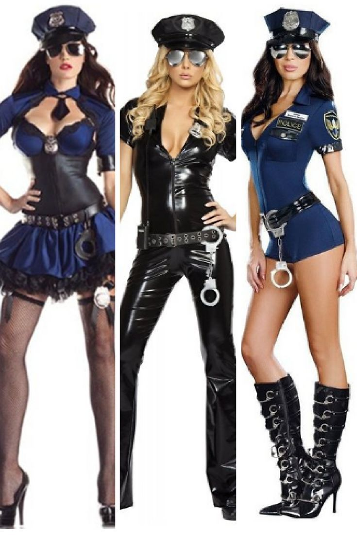 Sexy police woman outfit-4756