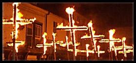 Lewes Bonfire Night Celebrations Martyrs Crosses