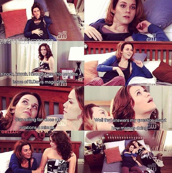 Hilarie Burton (Peyton Sawyer-Scott) & Bethany Joy Lenz (Haley James-Scott) - One Tree Hill