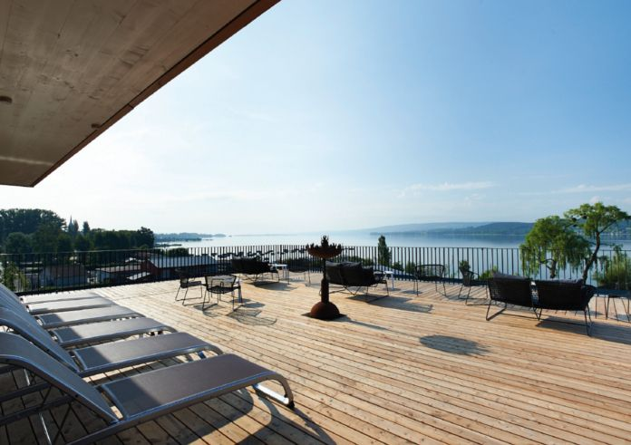 Urlaubs-Feeling am Bodensee:  das Bora Hot Spa Resort gibt Ihnen das Gefühl, einen Luxusurlaub in der Karibik zu verbringen - ideal für einen #Wellnessurlaub in #Deutschland! Hier geht's zum Hotel: https://www.travelcircus.de/bora-hotsparesort