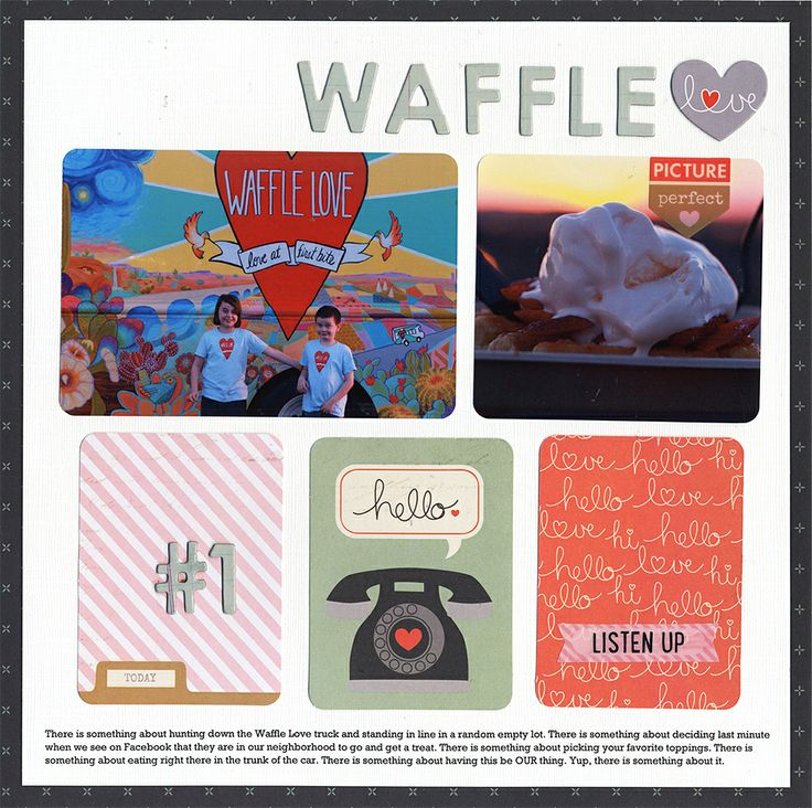 Waffle Love - Scrapbook.com