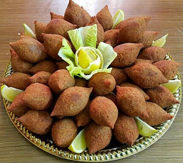 الكبة المقلية Traditional fried kibbeh. #MiddleEast #recipe