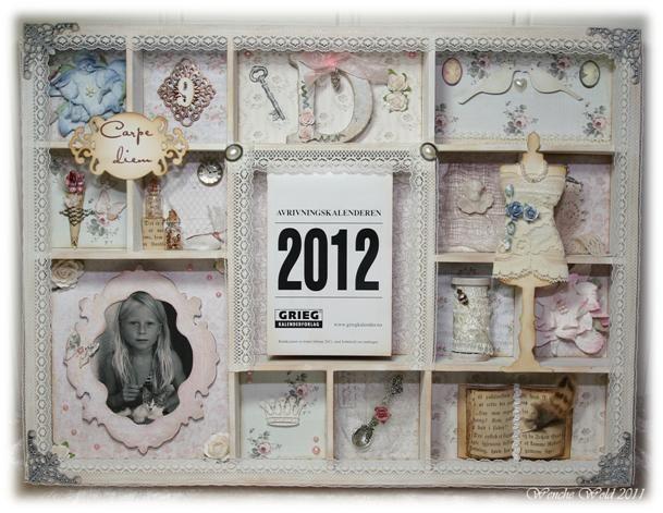Wenches Kort og Papir: Kalender 2012 - Settekasse