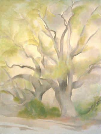 Georgia O'Keeffe. Green Tree - 1953.