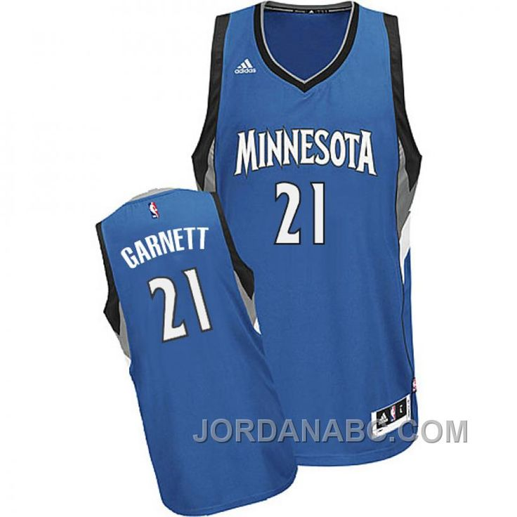 Kevin Garnett Minnesota Timberwolves #21 2014-15 New Swingman Road Blue  Jersey