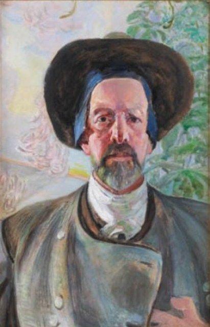 Jacek Malczewski - Self-portrait (1922)