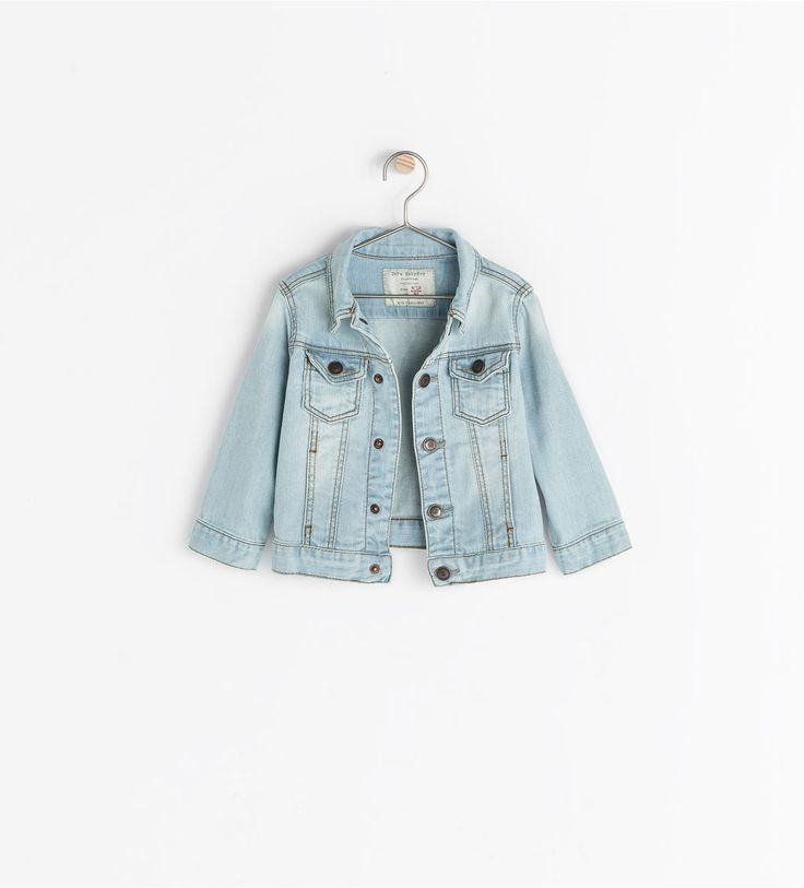 basic denim jacket from zara tuch kinderkleidung baby outfits