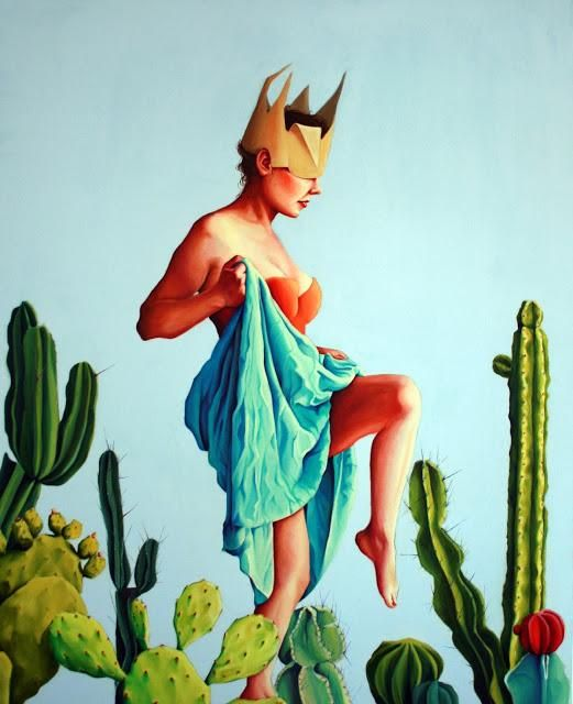 Ewa Pronczuk-Kuziak´s World of Art #Art #ContemporaryArt #Lowbrow #DonneInArte
