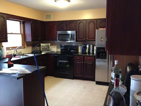 kitchen cabinets kitchen restain kitchen restaining kitchen cabinets