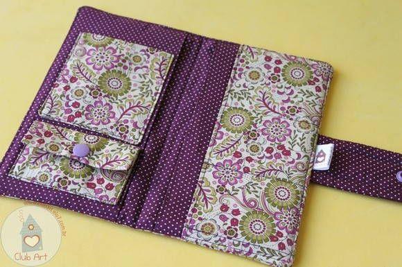 Kit Carteira + porta cartão - Lilac