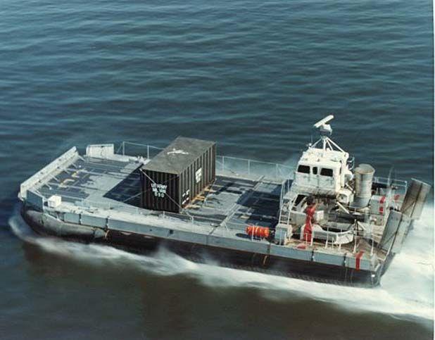 LACV-30 from SNAFU! | Landing craft, Navy ships, Boat