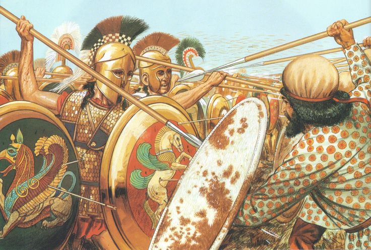 The Battle of Marathon by Peter Connolly. (Persian Wars/Athens/Great King Darius/The Greeks-Burrell)