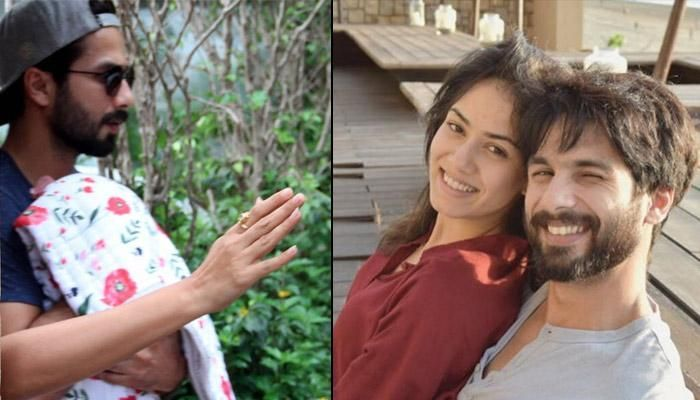 One of the 'It couple' of Bollywood, young and vivacious, Shahid Kapoor and Mira Rajput tied the knot in June 2015.  It has been almost four months and Shahid and Mira have kept their darling daughter away from the media glares and paparazzi.  After Kareena Kapoor Khan shared the pictures of her little