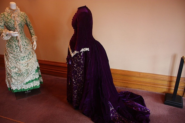 Victorian Maternity Dresses at the James Hill House, St Paul, MN