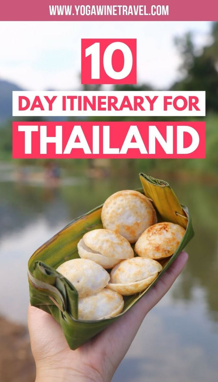 10 Day Thailand Itinerary for First Time Visitors (Beyond the Beaches)