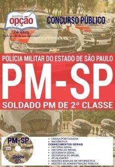 Saiba Mais -  Apostila Concurso PM SP 2017 - SOLDADO PM DE 2ª CLASSE  #Aprovado