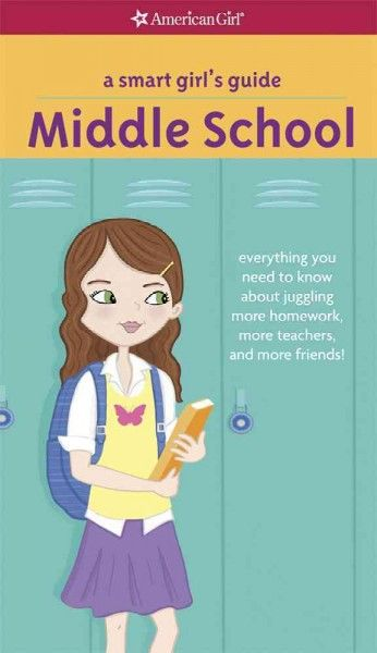 """Starting middle school can be scary. But knowing what to expect will make you feel more confident. Packed with tips and fun quizzes, here's the inside scoop on topics like classes, lockers, homework, and getting involved in after-school activities. Get help deciding the best way to introduce yourself to those new classmates. Plus, you'll read letters from other  girls who were just as worried about starting middle school, and advice from girls who have already been there""-- from the…"