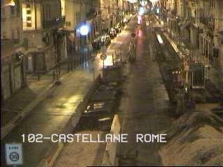Webcam Rue de Rome - Caméra de circulation de la ville de Marseille en France...