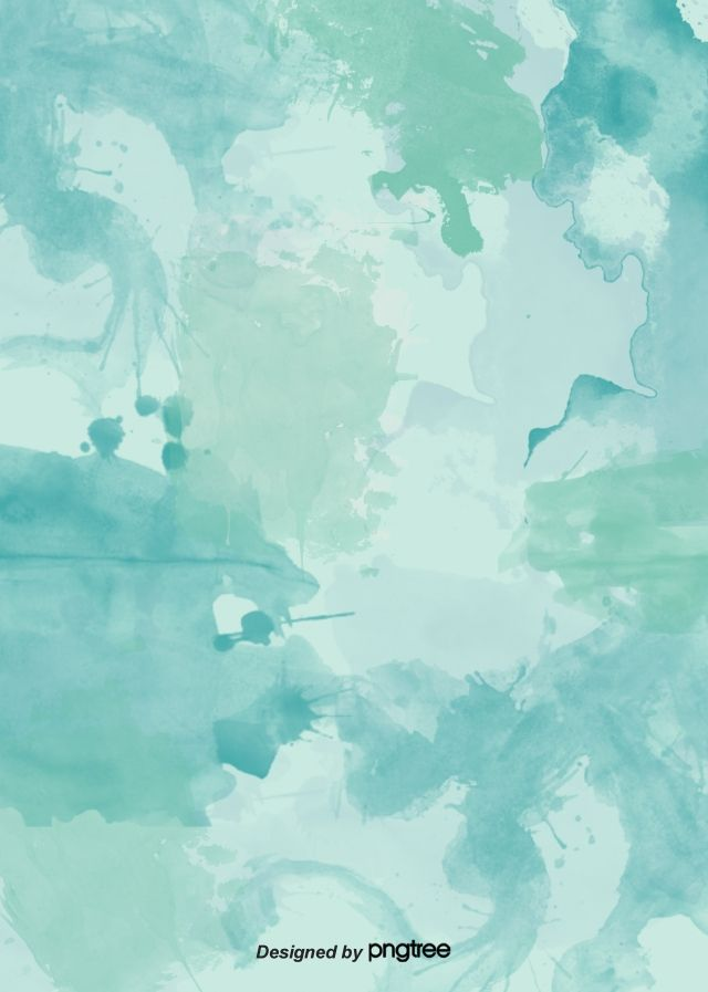 Green And Fresh Watercolor Splashing Background In 2020 Colorful