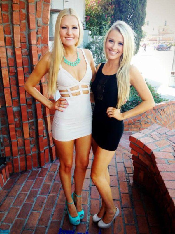 Color coordinating formal dresses with your little instead