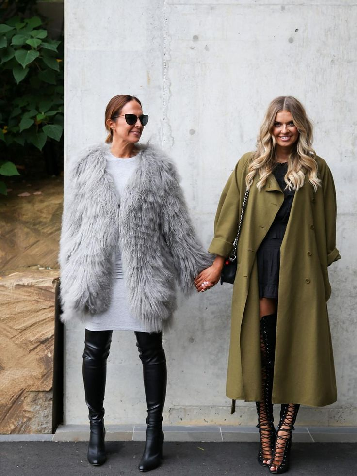 SYDNEY, AUSTRALIA - MAY 15: Bloggers Tash Sefton and Elle Ferguson attend the Toni Maticevski show at Barangaroo for Mercedes-Benz Fashion Week Resort 17 Collections at Carriageworks on May 15, 2016 in Sydney, New South Wales. (Photo by Caroline McCredie/Getty Images)