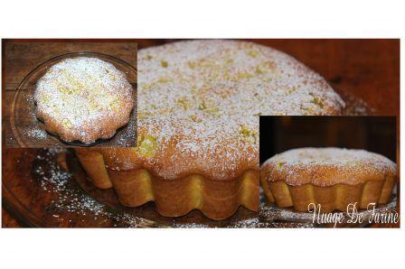 Gâteau de rhubarbe | Nuage De Farine