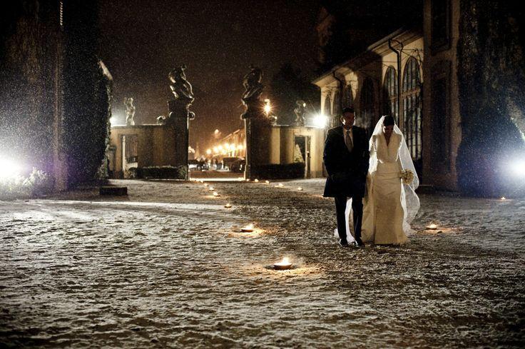 www.italianfelicity.com #weddinginitaly #winterwedding #snow