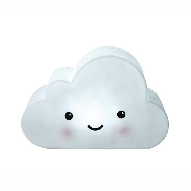 Veilleuse nuage H 16 cm | Maisons du Monde