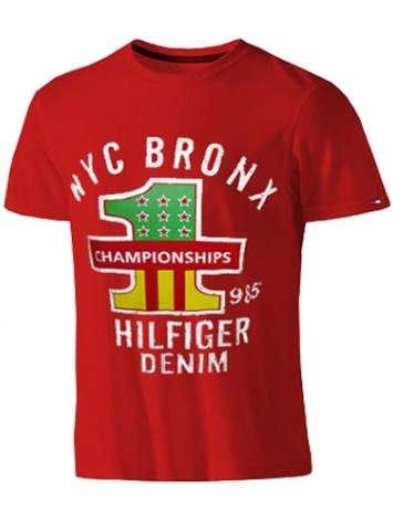 Mens Tommy Hilfiger Red (NYC Bronx) Casual T-shirt  MRP : Rs.1,650  Our price : RS. 799  52% off  You save : Rs.851  (Price are included of all taxes.)