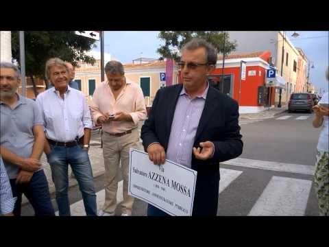 #Stintino, una via per Salvatore Azzena Mossa
