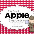 The Great Apple Investigation is a 9 page student journal used for recording observations, predictions, and estimations of an apple. For a more det...