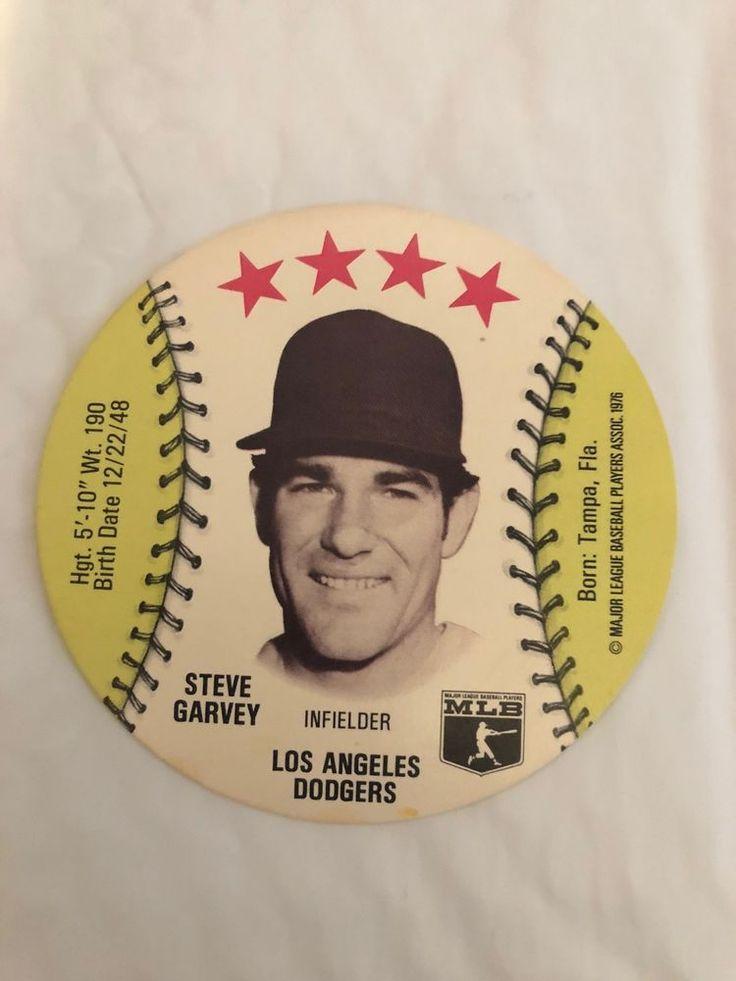 Isaly's Sweet William Restaurants 1976 Steve Garvey L.A. Dodgers Disc Rare Vtg #LosAngelesDodgers