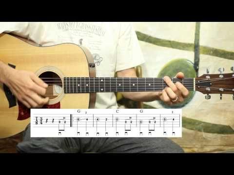 Amazing Grace - Simple Solo - Guitar Lesson - YouTube